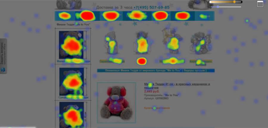 Анализ крупного интернет-портала для магазина