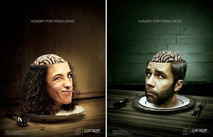 Реклама «Гпример работы креативного агентстваараж»
