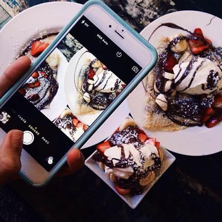 фото еды в Инстаграме