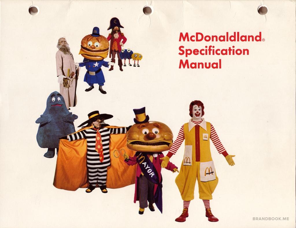 картинка, Брендбук Макдональдс